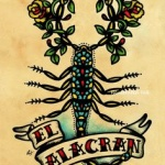 modele tatouage scorpion el alacran en espagnol