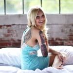 tatouage demi bras feminin