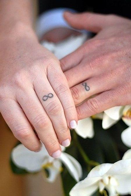 Tatouage doigt infini anneau couple tatouage femme - Tatouage doigt prix ...