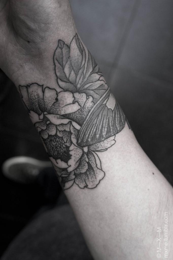 Tatouage Fleur De Pivoine