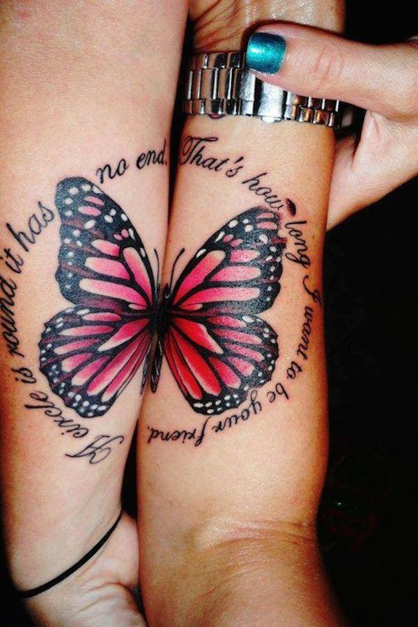 modele tatouage phrase en deux morceaux amiti tatouage femme. Black Bedroom Furniture Sets. Home Design Ideas