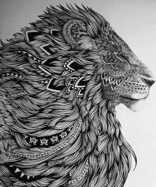 exemple tete de lion a tatouer mandala tatouage femme. Black Bedroom Furniture Sets. Home Design Ideas