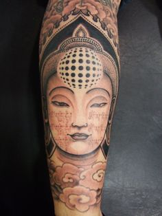 modele tatouage bouddha divinite bras
