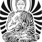 motif tatouage femme boudhisme tribal