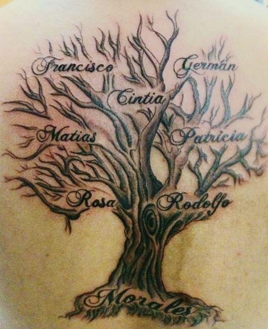 Bien connu Top 90 des modèles de tatouage arbre femme TB12