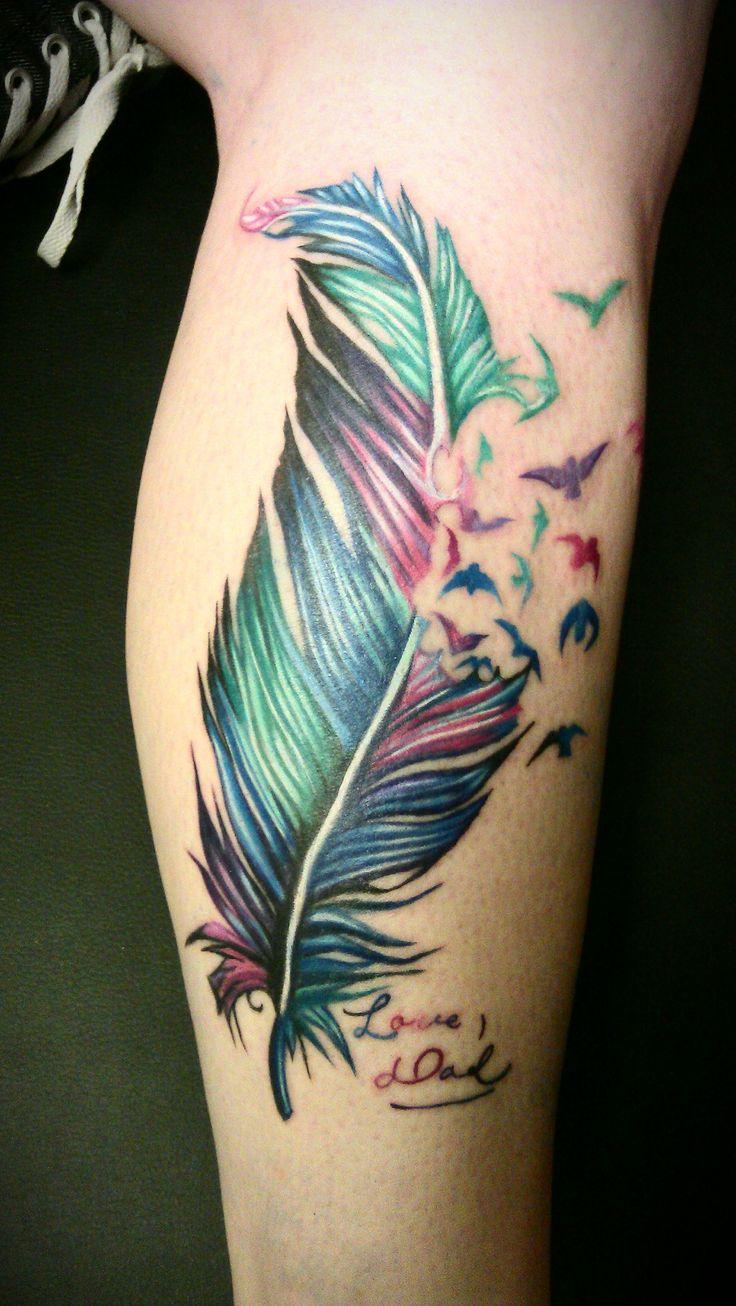 Bien connu Tatouage plume femme : Top 100 des tattoos plumes f RM81