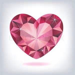 dessin tatouage coeur diamant femme