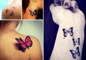 Trouvez des idées pour votre tatouage femme papillon