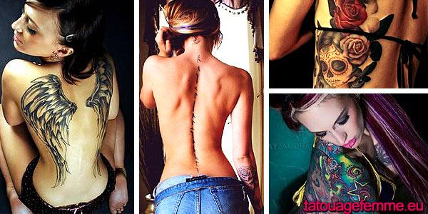 trouvez des idées pour votre tatouage dos femme