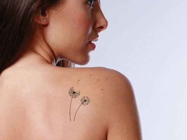 Bien connu Tatouage pissenlit femme : 60 beaux tattoos dandelions SD97
