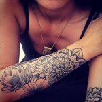 Beau tattoo manchette mandala femme