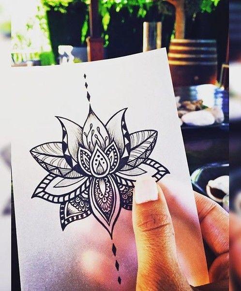 Tatouage Fleur De Lotus Nuque Finest Tatouage Fee Aurore Nuque