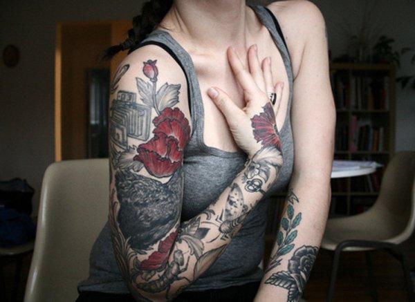 Favori tatouage manchette pour femme : les 70 + beaux modèles féminins KN37