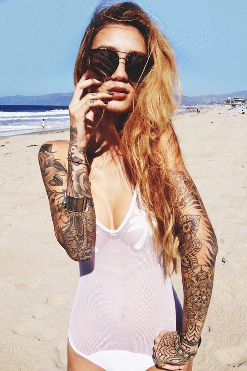 Préférence tattoo bras manchette 2 bras mandala et roses - Tatouage femme SI99
