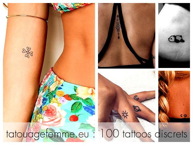 modèles tatouage discret femme